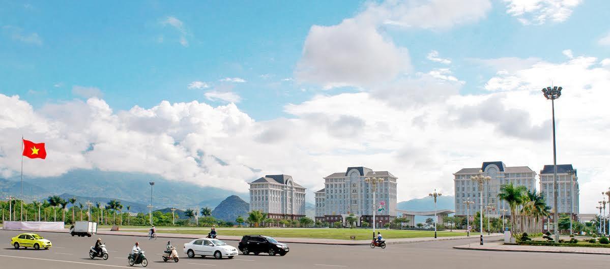 Trung tâm hành chính thành phố Lai Châu