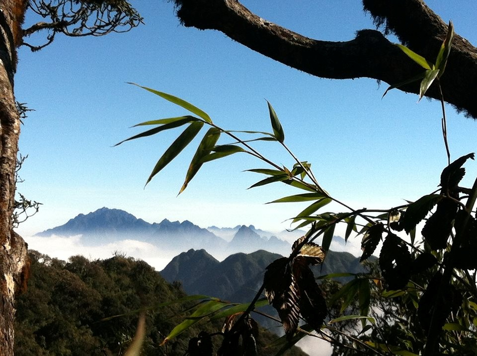 Những đỉnh núi cao ở Lai Châu