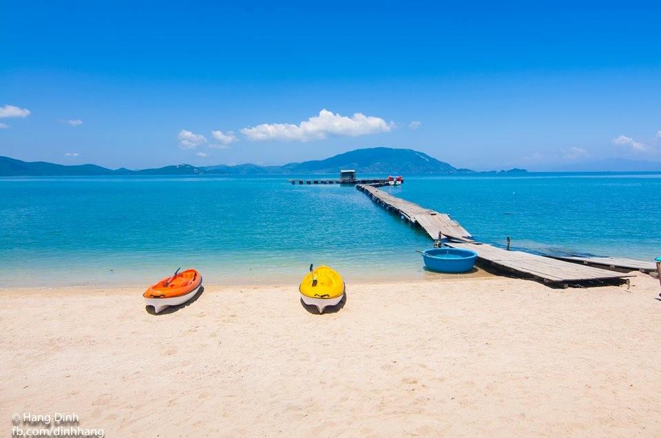 Bãi biển Điệp Sơn đẹp nên thơ