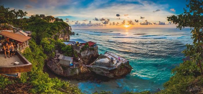 Một góc từ bờ biển đảo Bali