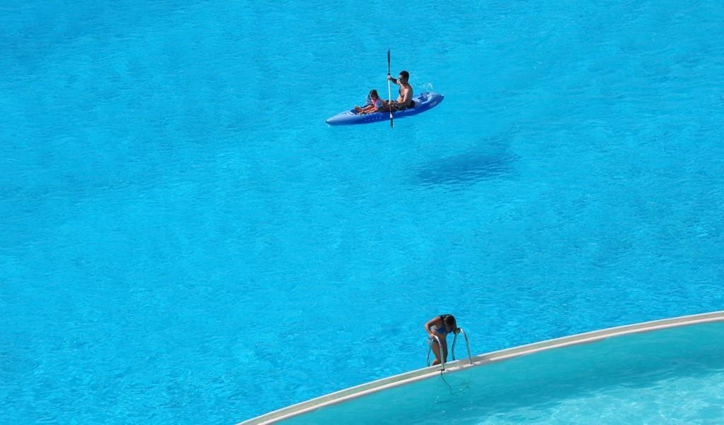 Crystal Lagoon được Guinness công nhận là bể bơi lớn nhất thế giới