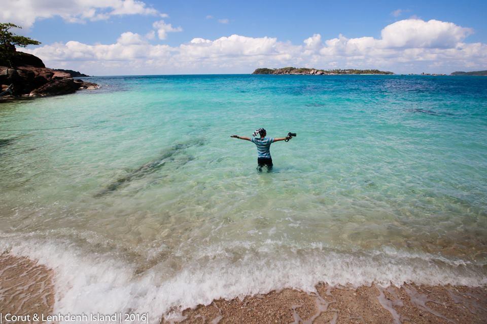 Biển xanh bao la