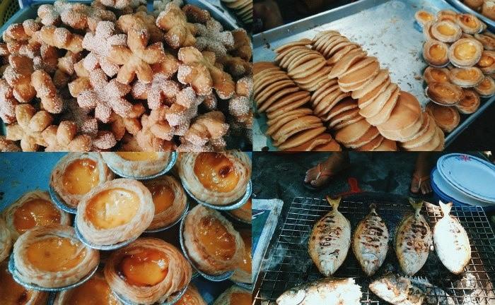 Vài món ăn vặt trên đảo Bình Ba