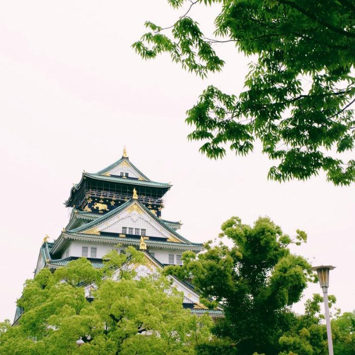 Lâu đài Osaka mang vẻ đẹp nguy nga tráng lệ