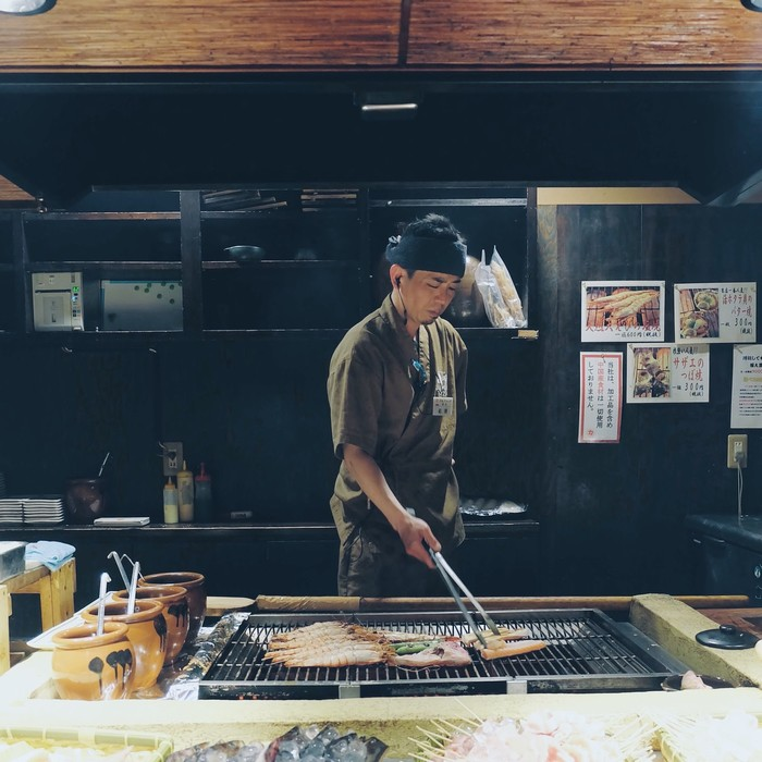 Osaka nổi tiếng là nhà bếp của Nhật Bản