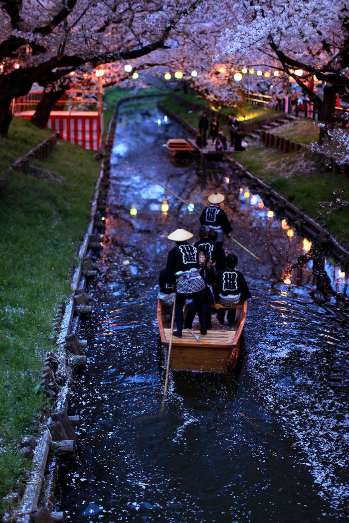 Những dòng sông ở Kawagoe