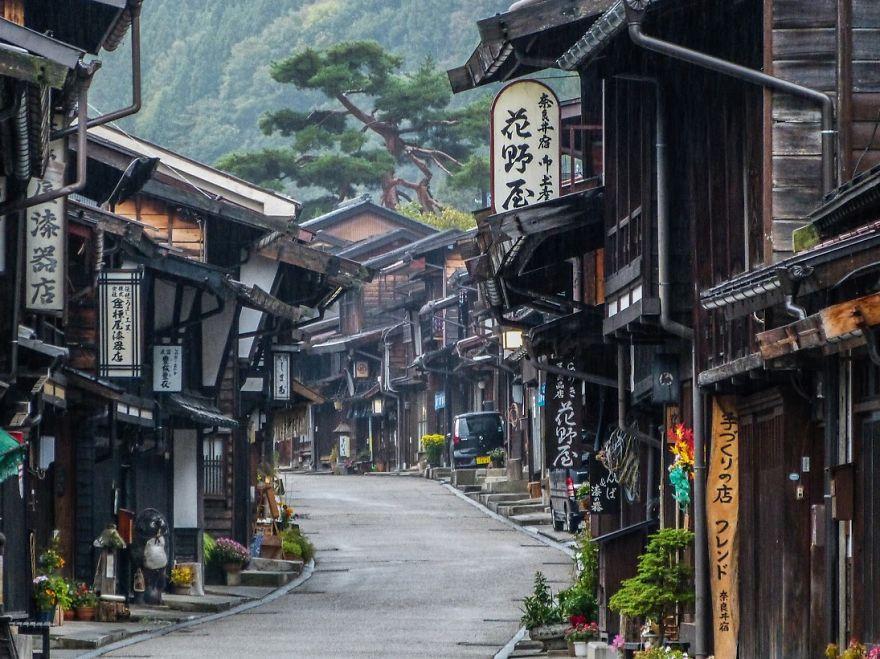 Con đường nối liền lịch sử Nakasendo