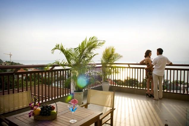 Khách sạn Valley Mountain có ban công rộng rãi, thoáng mát để bạn ngắm cảnh