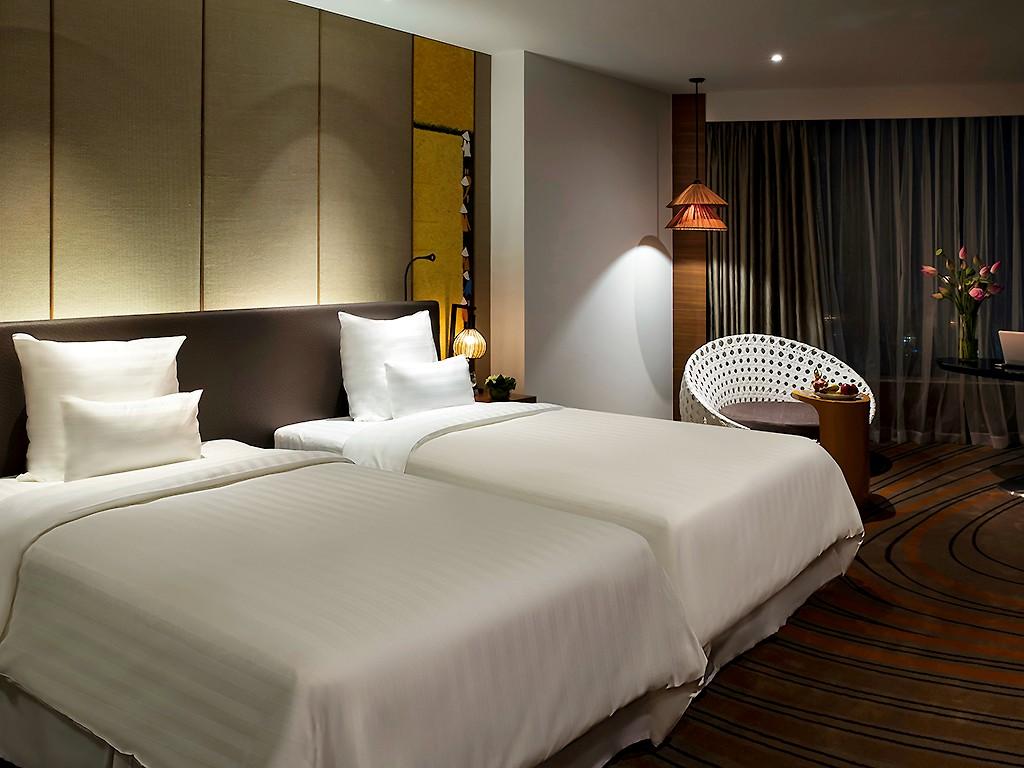 Phòng ngủ được thiết kế trang nhã, thanh lịch