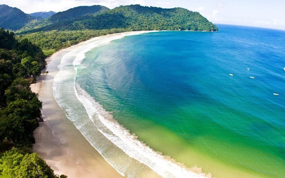 Đường bờ biển cực đẹp của Trinidad & Tobago