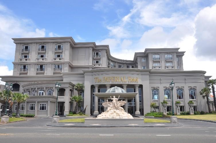 Khách sạn Imperial Vũng Tàu được xây dựng theo lối kiến trúc châu Âu độc đáo