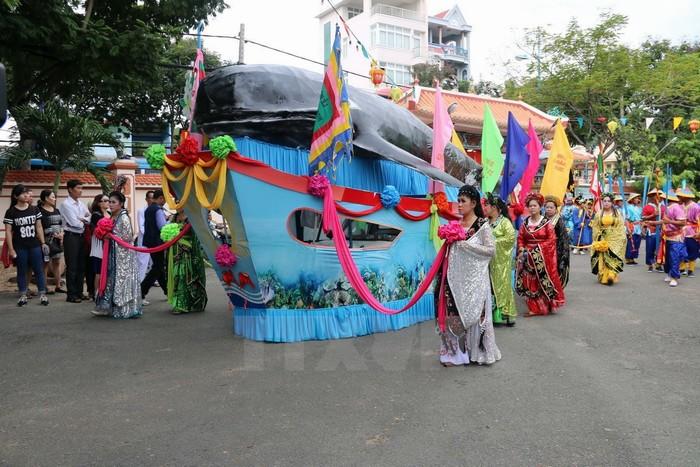 Lễ hội Nghinh Ông đặc sắc diễn ra hàng năm ở phố biển Vũng Tàu