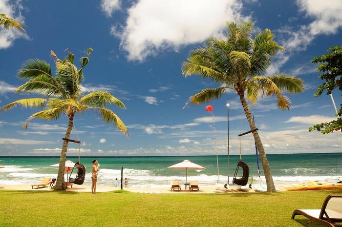 Ở resort cũng có 'thiên đường biển' đẹp chẳng kém bất kỳ đâu