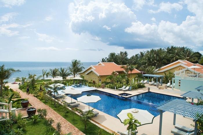 Resort hiện đại hòa hợp với thiên thiên