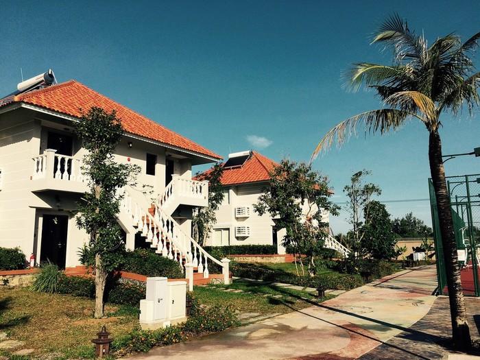 Kiến trúc đương đại rõ rệt ở Mercure Phú Resort & Villas