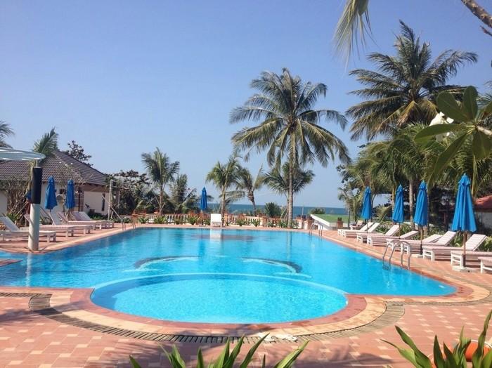 Orange resort có vị trí đẹp ngay tại trung tâm