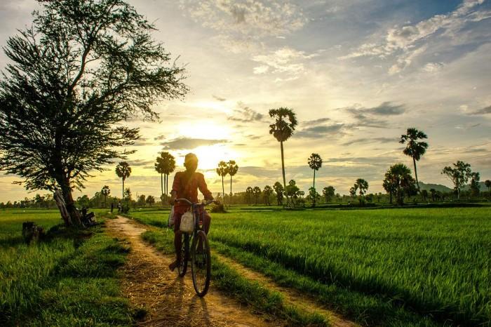 Châu Đốc – một góc đời thường - Ảnh: Nguyen Quoc Thang