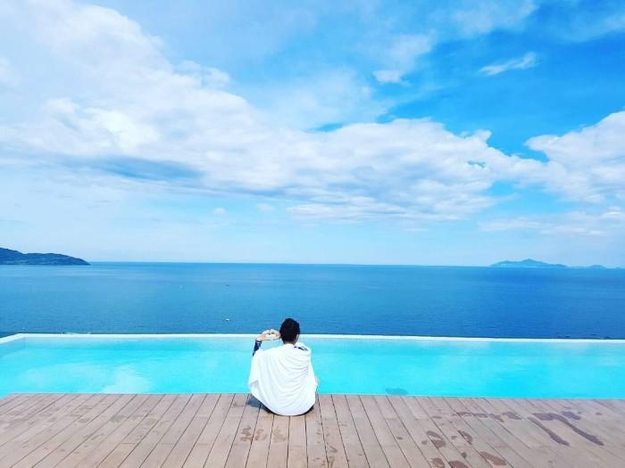 Hồ bơi À La Carte – điểm checkin cực hot không thể bỏ qua tại Đà Nẵng - Ảnh: @rari0713