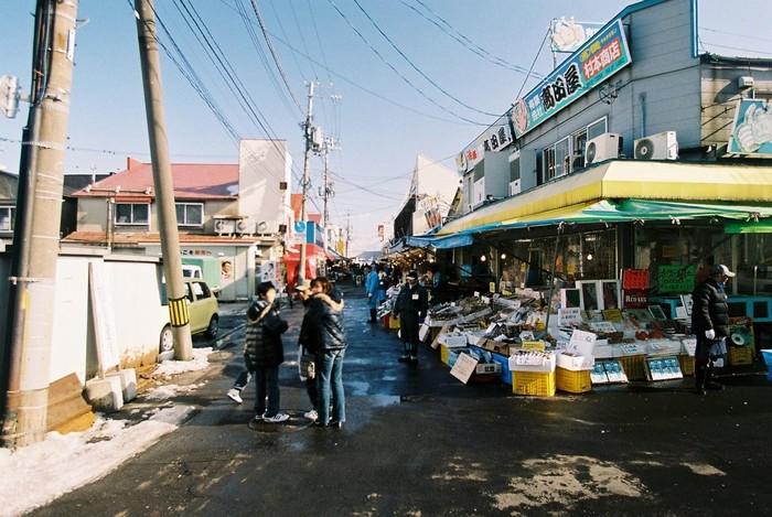 Chợ sớm Hakodate – thiên đường cho món Mực nhảy thú vị