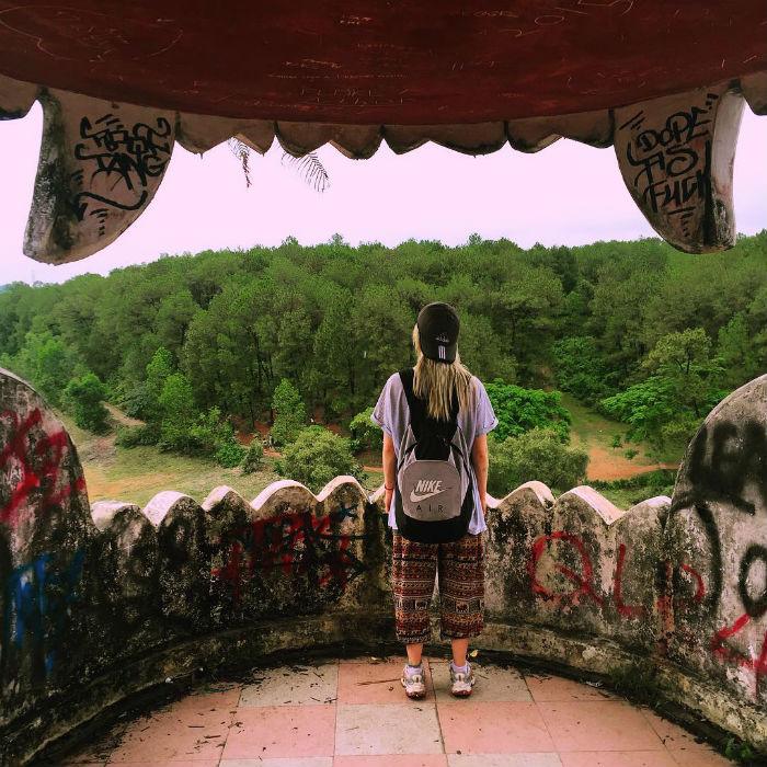 Khám phá công viên với nhiều bí ẩn đang chờ đón - Ảnh: @misshhaynes