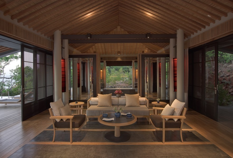 Phòng khách với thiết kế tinh tế