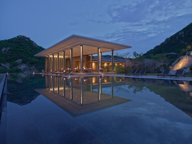 Amanoi resort là điểm nhấn đặc biệt trong ngành du lịch Ninh Thuận