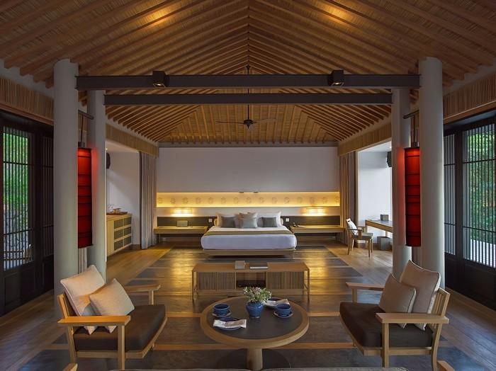 Phòng nghỉ sang trọng với thiết kế tinh tế