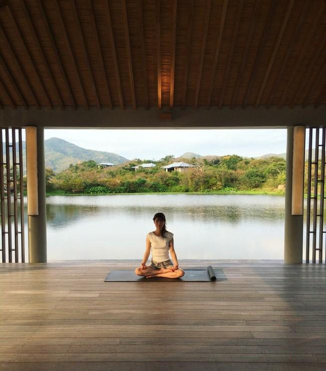 Không gian tập Yoga riêng