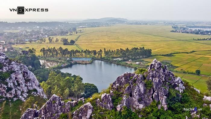 Không chỉ là nơi thư giãn gần Hà Nội, đây thực sự là một bức tranh đồng quê gợi cho du khách nhiều cảm xúc.