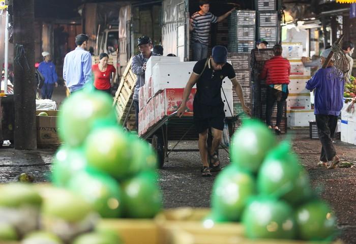 Chợ Long Biên trước nay vẫn được coi là chợ đầu mối hoa quả lớn của thành phố, phục vụ nhu cầu tiêu dùng của Hà Nội cũng như các tỉnh miền Bắc.