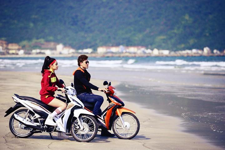 Hãy kiểm tra xăng nếu bạn thuê xe máy du ngoạn Phú Quốc
