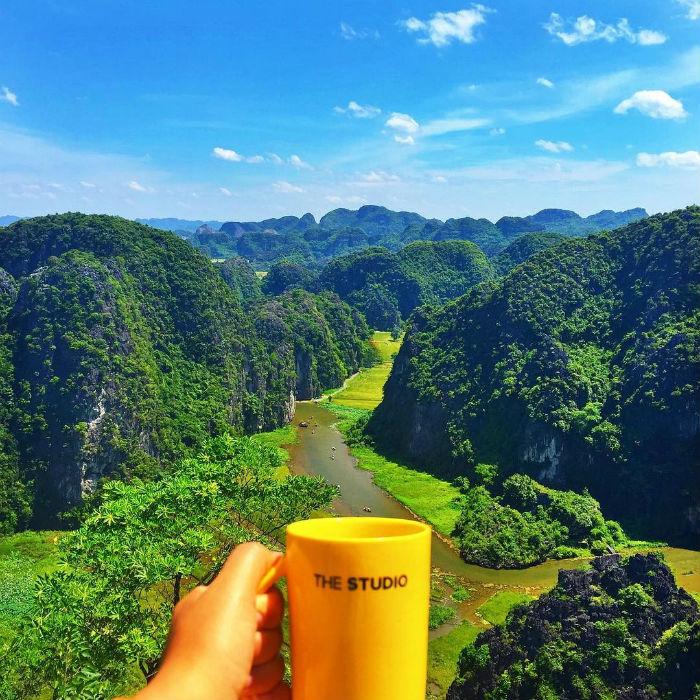 Mang cà phê lên núi pha thì sao