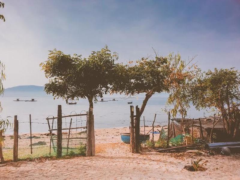 Cảnh thơ mộng trên đảo Điệp Sơn