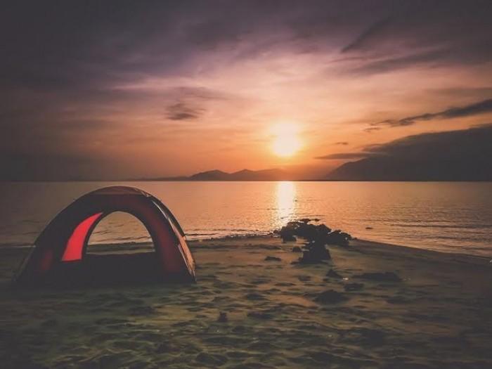 Cắm trại đón bình minh Điệp Sơn