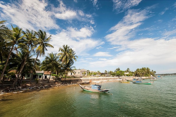 Góc tĩnh lặng của làng chài Tam Hải