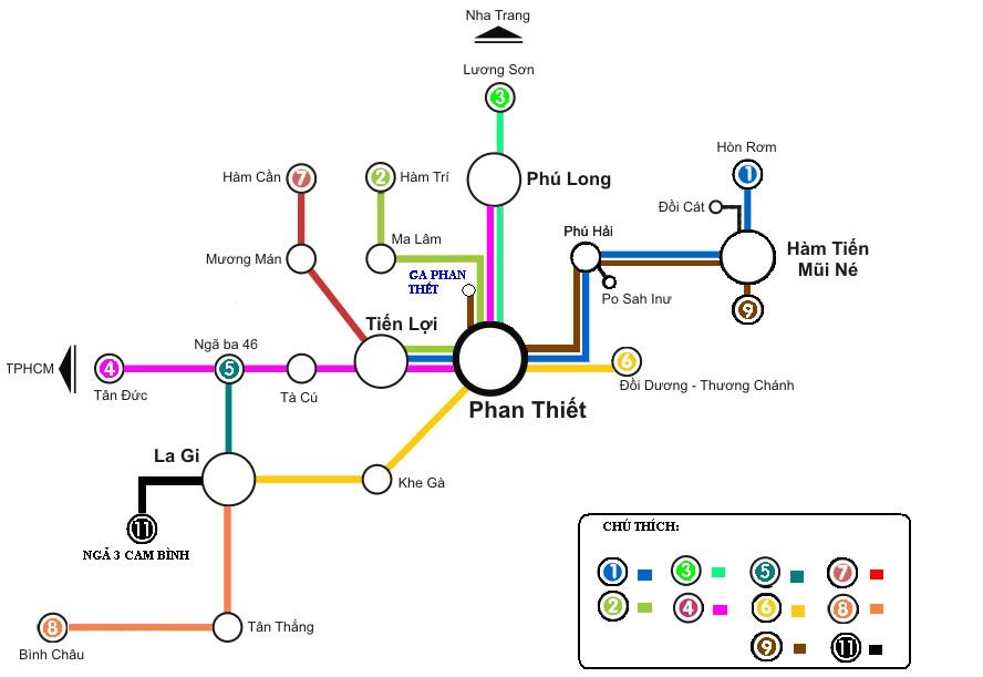 Trải nghiệm mới mẻ trên các tuyến xe buýt ở Phan Thiết