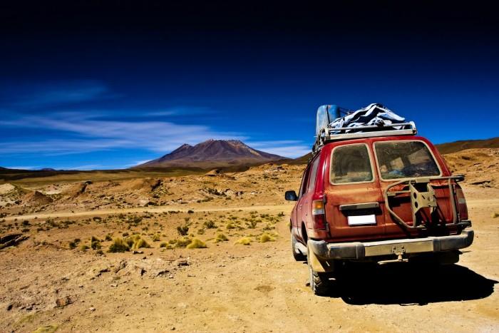 Tự chạy xe đến những vùng đất mới