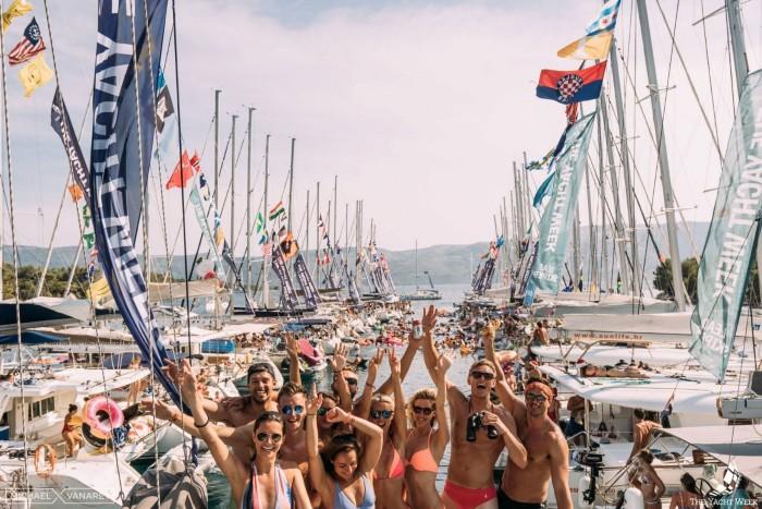 Những du thuyền tại Croatia