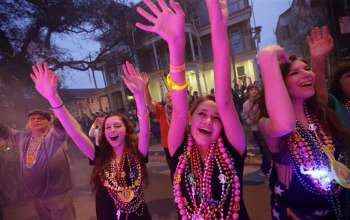 Diễu hành Mardi Gras ở New Orleans