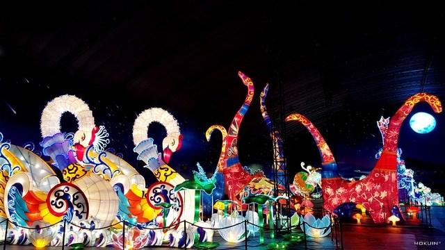 Một góc nhỏ siêu khủng đẹp lung linh tại lễ hội đèn lồng lớn nhất Việt Nam – Thung Lũng Sao Băng