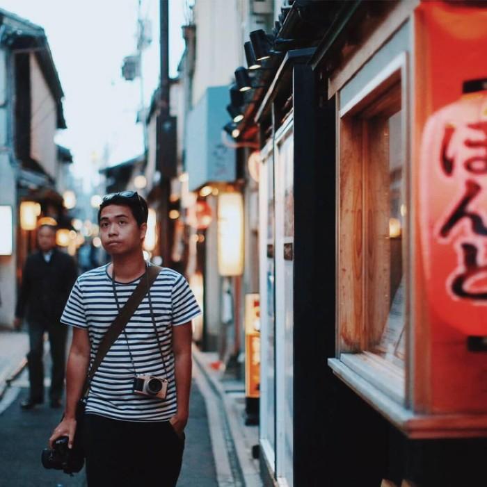"""Anh chàng với lăng kính rất có hồn đã lưu lại """"khoảnh khắc Nhật Bản"""""""