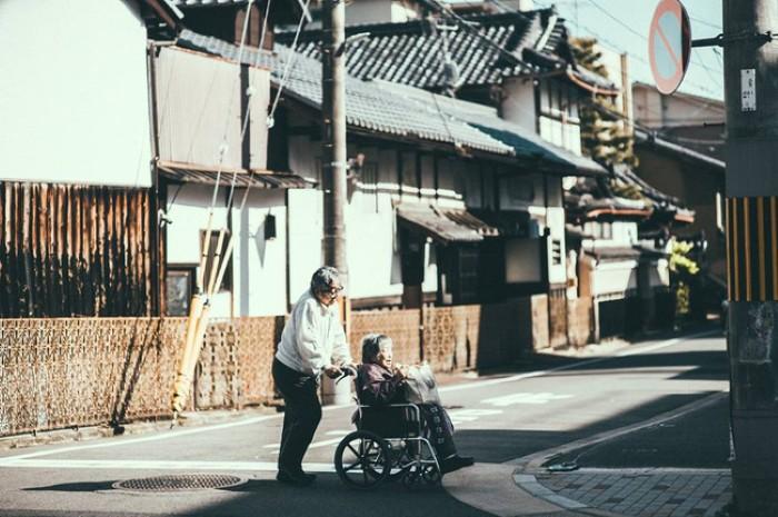 Góc phố bình yên ở Kyoto