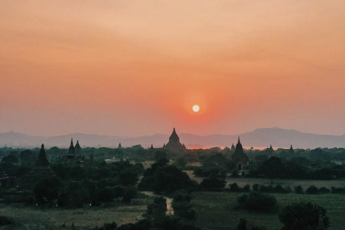 Nhất định phải ngắm mặt trời ở Miến Điện