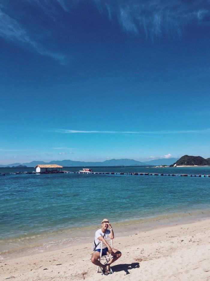 Đảo Điệp Sơn đẹp không kém những thiên đường biển quốc tế