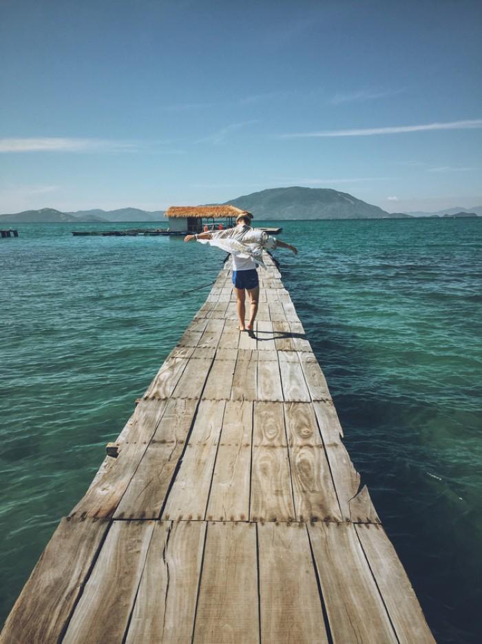 Một góc chụp khác trên đảo Điệp Sơn