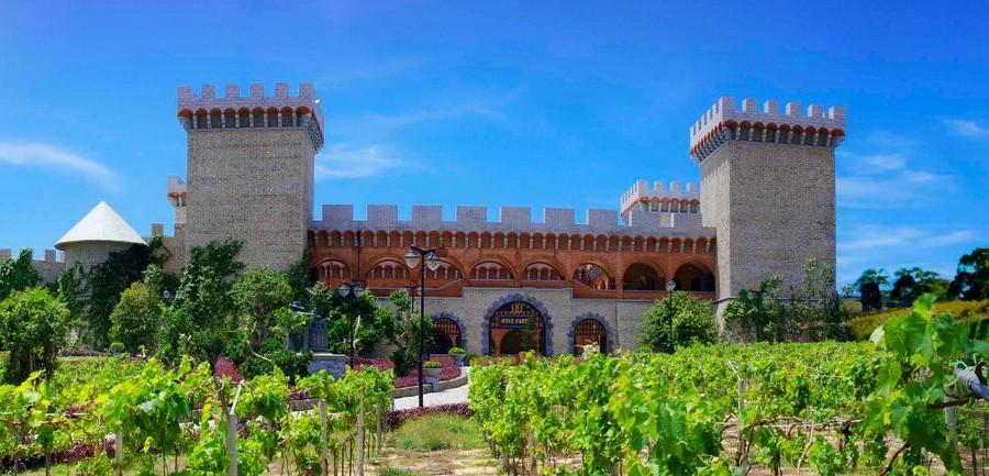 Lâu đài rượu vang đẹp hút hồn, mê hoặc du khách