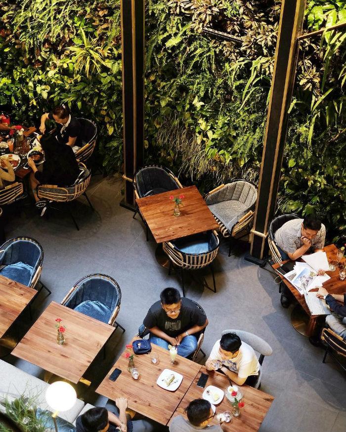Café Terrace - nơi lý tưởng để gặp mặt, trò chuyện với bạn bè