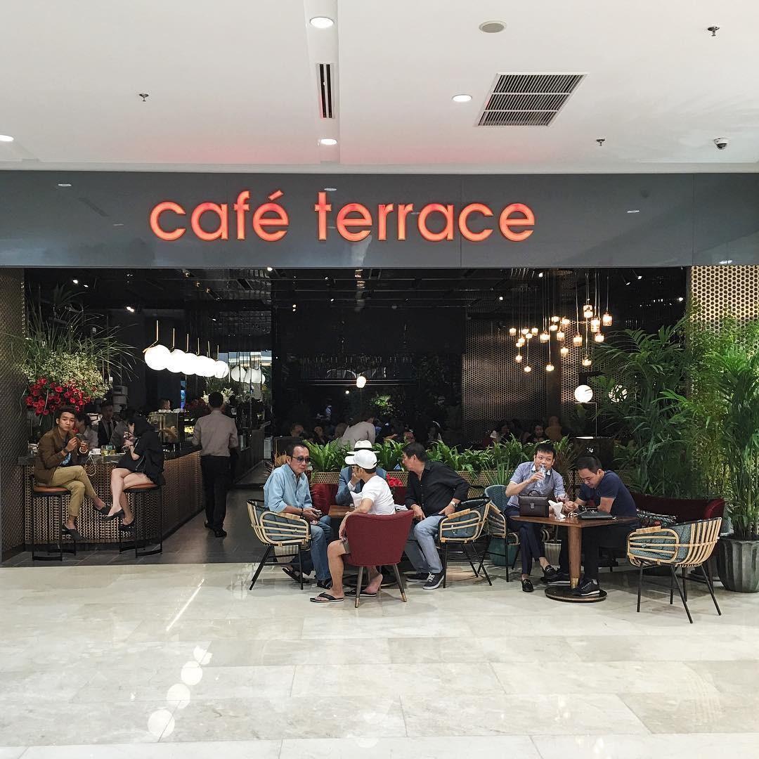 Café Terrace - điểm hẹn check-in mới lạ của giới trẻ tại trung tâm Takashimaya ở Sài thành