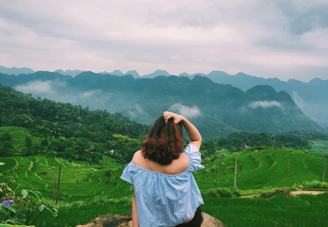 View xanh mát từ khu nghỉ dưỡng