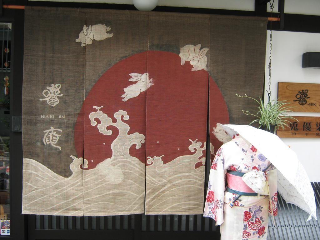 Noren – nét duyên dáng trong văn hóa truyền thống Nhật Bản